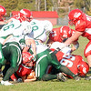 Saturday, October 8, 2011. Saranac Central High School vs. Franklin Acadamy in Saranac.  Saranac won 48-27.<br><br>(Staff Photo/Ryan Hayner)
