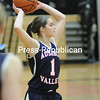 Monday, January 26, 2015. AuSable Valley plays Plattsburgh in Girls Basketball Monday in Plattsburgh.  <br /><br />(P-R Photo/Rob Fountain)