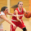 Monday, January 5, 2015. Plattsburgh plays Beekmantown Monday during a CVAC Girls Basketball game in Plattsburgh. <br /><br />(P-R Photo/Rob Fountain)
