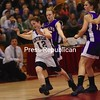Saturday, March 14, 2009. Ticonderoga High School vs. Hoosic Valley High School in Plattsburgh.  Hoosic Valley won 47-11.<br><br>(Staff Photo/Michael Betts)