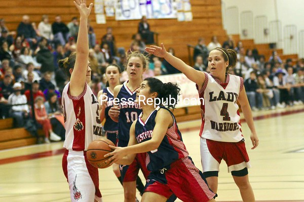 Friday, March 6, 2009. Westport High School vs. Willsboro High School in Plattsburgh.  Westport won 39-30 taking the Section VII Class D Championship.<br><br>(Staff Photo/Michael Betts)