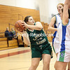 Saturday, December 20, 2014. Elizabethtown-Lewis took on Seton Catholic in a girls' basketball game during the ninth annual Coaches vs Cancer Tournament at the Field House in Plattsburgh Saturday afternoon. <br /><br />(P-R Photo/Gabe Dickens)