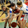 Monday, February 9, 2015. Seton plays Willsboro in girls basketball Monday in Plattsburgh. <br /><br />(P-R Photo/Rob Fountain)