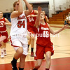 Friday, March 2, 2012. Beekmantown High School vs. Saranac Central High School in Plattsburgh.  Saranac won 59-39. <br /><br />(P-R Photo/Rob Fountain)