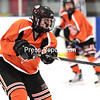Thursday, January 15, 2015. The Plattsburgh girls' hockey team played host to Potsdam at the Ameri-Can North Sports Center in Plattsburgh Thursday evening. <br /><br />(P-R Photo/Gabe Dickens)