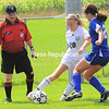 Saturday, September 3, 2011. Chazy Central High School vs. Peru Central High School in Chazy.  Peru won 2-1.<br><br>(P-R Photo/Rob Fountain)