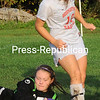 Thursday, September 22, 2011. Beekkmantown Central High School vs. Northeastern Clinton Central High School in Beekmantown.  BCS won 3-2.<br><br>(P-R Photo/Rob Fountain)