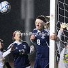 Thursday, October 23, 2014. The Ausable Valley Patriots came from behind to defeat the Lake Placid Blue Bombers 2-1 during Thursday's Section VII Class C semifinal soccer game at the Plattsburgh High Athletic Complex. <br /><br />(P-R Photo/Gabe Dickens)