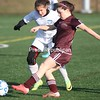 Sunday, November 18, 2012. The Chateaugay girls defeated Smithtown Christian, 6-1, in the NYSPHSAA Class D soccer semifinal in Dryden, NY, Saturday, Nov. 17, 2012. <br /><br />(P-R Photo/John Haeger)