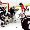 Thursday, February 26, 2015. Plattsburgh High plays Northeastern Wednesday in boys hockey at AC North Arena in Plattsburgh. <br /><br />(Rob Fountain/Staff Photo)