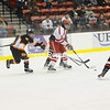 Monday, February 27, 2012. Plattsburgh High School vs. Saranac Lake High School in Plattsburgh.  SLCS won 4-1. <br /><br />(Staff Photo/Kelli Catana)