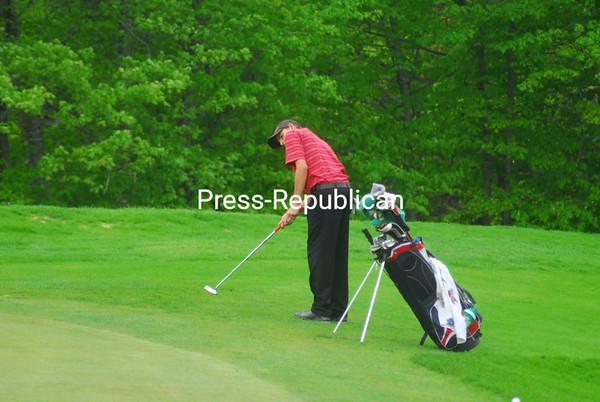 Friday, May 27, 2011. Section VII Golf Finals at the Saranac Inn in Saranac Lake.<br><br>(P-R Photo/Nick St. Denis)