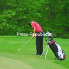 Friday, May 27, 2011. Section VII Golf Finals at the Saranac Inn in Saranac Lake.<br><br>(P-R Photo/Nick St. Denis)