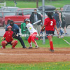 Tuesday, May 17, 2011. Saranac Central High School vs. Moriah High School in Plattsburgh.  Saranac won 23-0.(Staff Photo/Ryan Hayner)