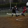 Tuesday, April 21, 2009. Plattsburgh High School  vs. Beekmantown Central High School in Plattsburgh. Beekmantown won 2-1.<br><br>(Staff Photo/Michael Betts)