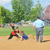 Thursday, May 24, 2012. PHS & AuSable Valley in the Section VII Class B softball quarterfinals.  (Staff Photo/Kelli Catana)