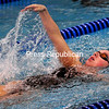 Wednesday, October 8, 2014. Plattsburgh swims against Peru Tuesday at Memorial Hall at SUNY Plattsburgh. <br /><br />(P-R Photo/Rob Fountain)