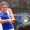 Tuesday, April 29, 2014. Seton Catholic plays Plattsburgh in girls tennis on Monday at Plattsburgh State.  <br /><br />(P-R Photo/Rob Fountain)