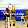 Monday, October 24, 2011. AuSable Valley Central High School vs. Saranac Lake High School in Clintomville.  AVCS won 3-1.<br><br>(Staff Photo/Kelli Catana)