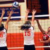 Wednesday, October 12, 2011. Plattsburgh High School vs. Saranac Central High School in Plattsburgh. PHS won 3-0.<br><br>(P-R Photo/Rob Fountain)