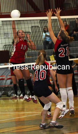 Tuesday, February 17, 2009. Beekmantown Central High School vs. AuSable Valley Central High School in Beekmantown. Beekmantown won 3-0.<br><br>(Staff Photo/Michael Betts)