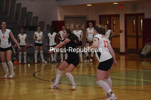 Plattsburgh High School vs. Cazenovia in Beekmantown.  Cazenovia continues on through Section VII Class B competition.<br><br>(P-R Photo/Michael Betts)