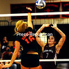 Wednesday, October 3, 2012. Champlain Valley Athletic Conference volleyball. The Hornets took the victory, 3-0, against Northeastern Clinton. <br /><br />(P-R Photo/Rob Fountain)