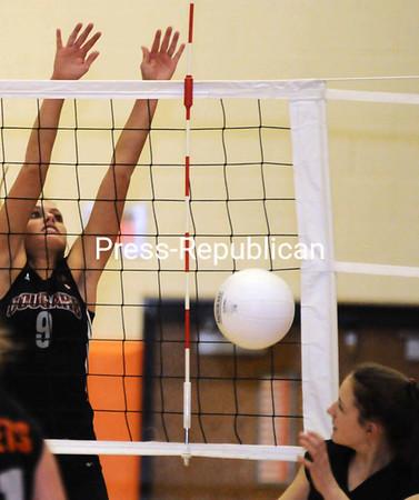 Monday, January 28, 2008. Plattsburgh High School vs. Northeastern Clinton Central High School in Plattsburgh. Plattsburgh won 3-0.<br><br>(Staff Photo/Michael Betts)