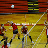 Tuesday, November 2, 2010. Beekmantown Central High School vs. Saranac Central High School in Saranac.  Beekmantown won 3-0.<br><br>(Staff Photo/Kelli Catana)
