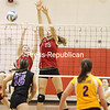Saturday, November 12, 2011. Beekmantown Central High School vs. Johnstown High School in Plattsburgh.  Johnstown won 3-2.<br><br>(P-R Photo/Gabe Dickens)