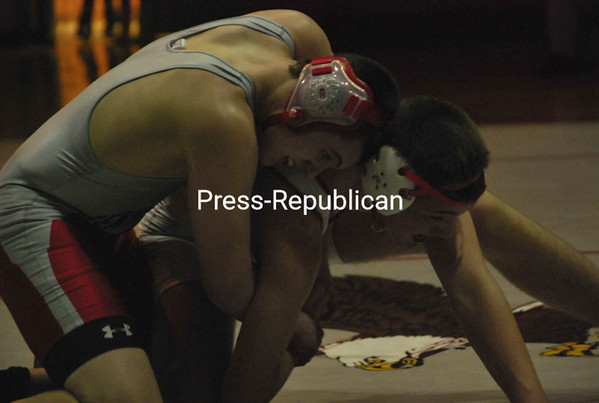Saturday, February 13, 2010. Section VII wrestling championships in Beekmantown.<br><br>(P-R Photo/Jen Stiles)