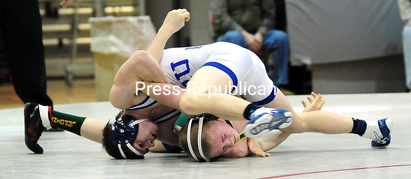 Sunday, February 15, 2015. Wrestling finals Saturday in Beekmantown. <br /><br />(P-R Photo/Rob Fountain)
