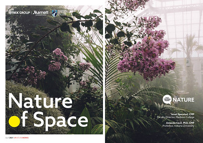 Nature of Space essay by Janet Sperstad and Amanda Cecil, powered by Marriott International