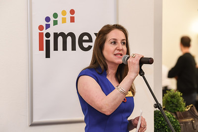 Carina Bauer, CEO, IMEX Group at the IMEX Meet Up