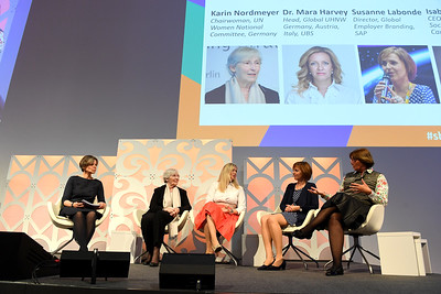 Women in Business panel at She Means Business