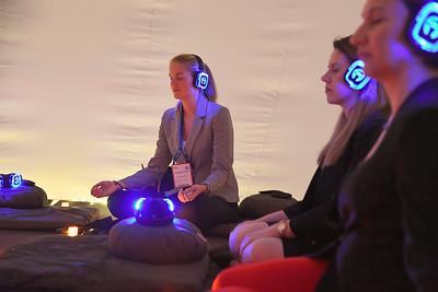 The Hyatt meditation bubble