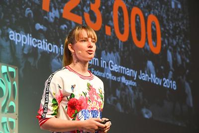 EduMonday She Means Business Keynote, Anne Kjaer Riechart, CEO & Co-Founder, ReDI School of Digital Integration