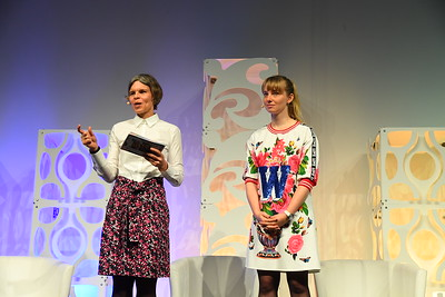 Kerstin Wunsch, TW and Anne Kjaer Riechert, Co-founder & Managing Director, ReDI School of Digital Integration