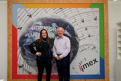 Carina Bauer, CEO and Ray Bloom, Chairman, IMEX Group