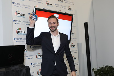 Tim Groot, CEO and Co-Founder at GRIP - and former winner of the #IMEXPitch