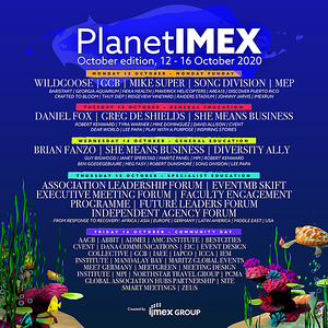 PlanetIMEX, October edition poster