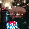 CHUNKER MONKER PEEKING ON CHRISTMAS EVE!!!<br /> <br /> Photographer's Name: Karen Durocher<br /> Photographer's City and State: Plattsburgh, NY