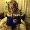 Benson is a loyal fan<br /> [P-R employee photo: not eligible for contest]