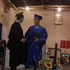 Ryan getting his diploma..