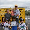 Andrew Wylie family complete certification for Bike Safety