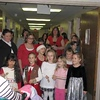 Daisy Troop 4061 and Brownie Troop 4046 visited the residents of the Skilled Nursing Facility on the 4th and 6th floor of CVPH on Monday night.  The troops sang Christmas carols and visited with the residents.  This is the third year that the Girl Scouts have visited CVPH.