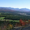 "Ski jumps against the High Peaks in autumn. The Lake Placid Club golf course is in the foreground. <a href=""http://web.mac.com/kdedam/iWeb/Site"">View more fall foliage photos by Kim Dedam</a>"
