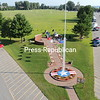 This is the of the Plattsburgh Barracks Veterans Park from above<br /> <br /> Photographer's Name: Gary Hamel<br /> Photographer's City and State: Plattsburgh, NY