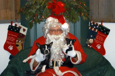 Lila and Paisley went for a visit to see Santa Claus at Tails of the Adirondacks. Fun, fun, fun!