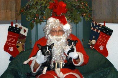 Lila and Paisley went for a visit to see Santa Claus at Tails of the Adirondacks. Fun, fun, fun!